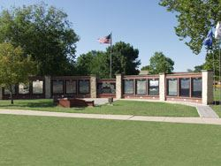 Allen County Veteran's Memorial Wall