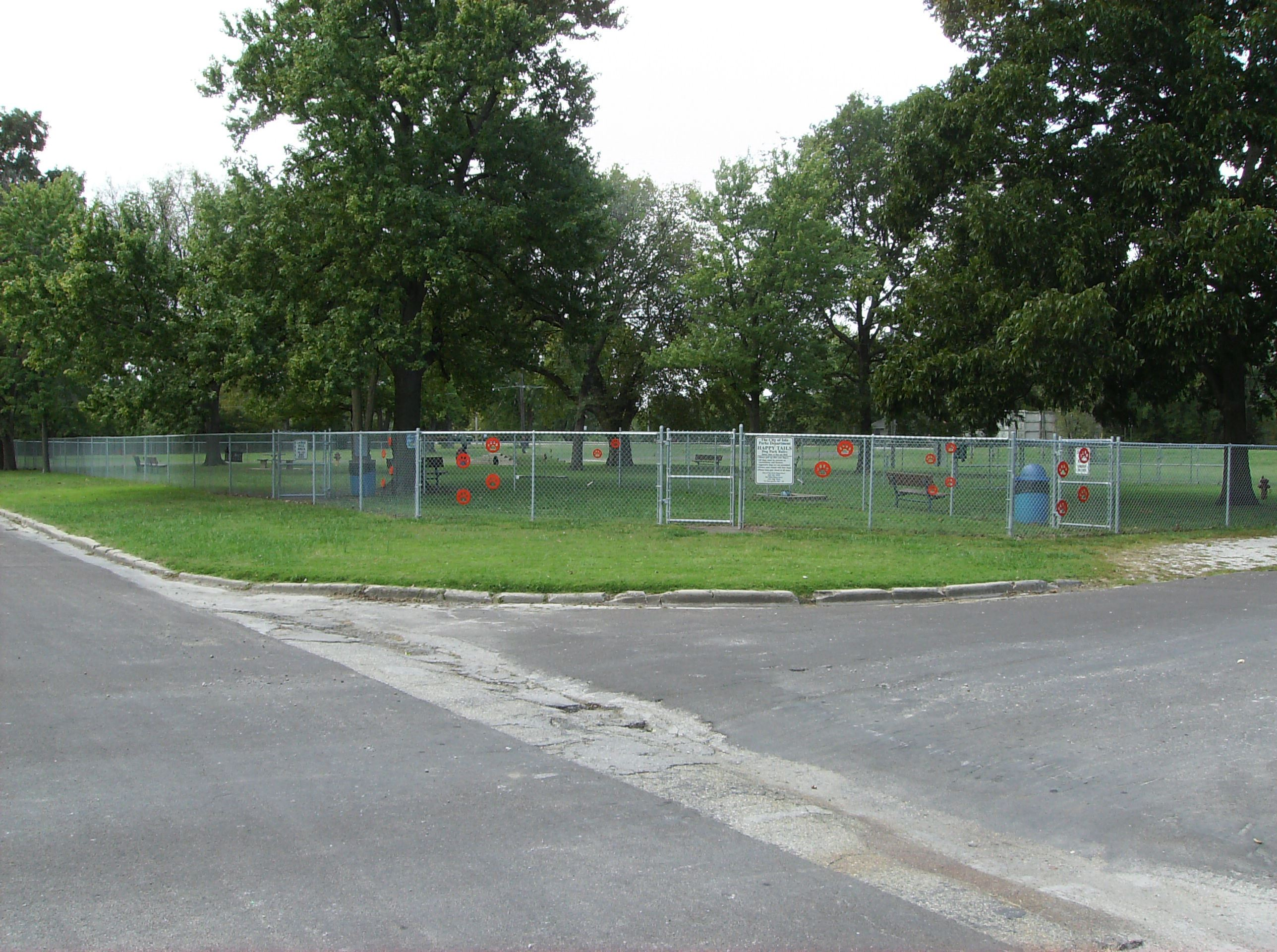 Happy Tails Dog Park Image of Entire Gated Park